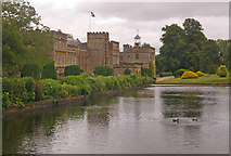ST3505 : The Long Pond, Forde Abbey by Ian Capper
