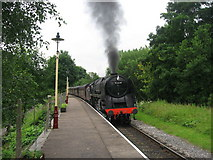SD7914 : Summerseat Railway Station by Paul Anderson