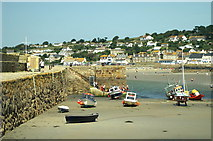 SW5130 : The Harbour, St Michael's Mount by Pierre Terre