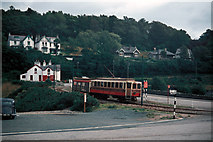 SC4384 : Approaching Laxey station by Dr Neil Clifton