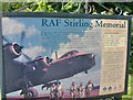 SK5052 : RAF Stirling memorial, Annesley by Phil Evans
