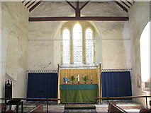 TG0524 : St Andrew's church - the chancel by Evelyn Simak