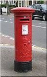 TQ2673 : Edward VII postbox, Earlsfield Road / Cargill Road, SW18 by Mike Quinn