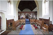 TL7388 : St James Church, Hockwold cum Wilton, Norfolk - West end by John Salmon