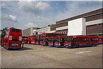 TQ2387 : Brent Cross Bus Station by Martin Addison