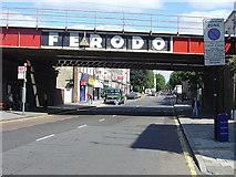 TQ3084 : Ferodo bridge by Alan Murray-Rust