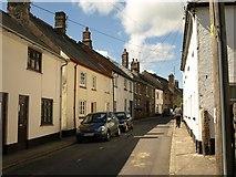 SX7087 : New Street, Chagford by Derek Harper
