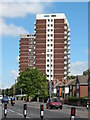 SJ9901 : Flats, High Street, Bloxwich by Adrian Rothery