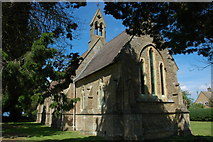 SP2225 : Holy Ascension church, Oddington by Philip Halling