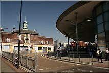 SP0198 : The Old & New, Walsall Bus Station by Derek Bennett
