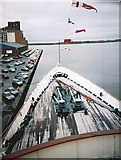 NT2677 : View from the bridge of HMY Britannia by Stanley Howe