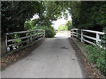 SO4841 : Narrow bridge, Huntington by Pauline E