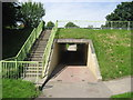 NZ3472 : Subway under Monkseaton Drive by Chris Heaton