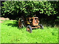 SN0204 : Old Nuffield tractor by Shaun Butler