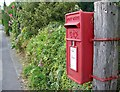ST9917 : George VI Postbox, Sixpenny Handley by Maigheach-gheal
