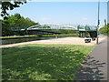 SK0405 : New Footbridge - Wyrley & Essington Canal by Adrian Rothery