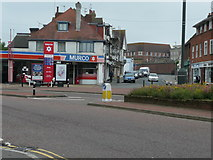 TQ7407 : Petrol Station, Town Hall Square, Bexhill on Sea by David Jarrett