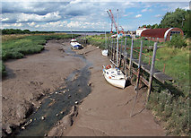 TA0623 : Barrow Haven in August by David Wright