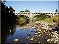 SO1091 : River Severn, Long bridge by kevin skidmore