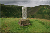NT0612 : A covenanter's memorial by Walter Baxter