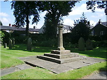 SD7336 : St Mary's and All Saints Church, Whalley, Sundial by Alexander P Kapp