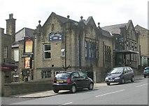 SE0724 : King Cross WMC - Warley Road by Betty Longbottom