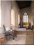 TG3912 : St Margaret's church - north aisle by Evelyn Simak