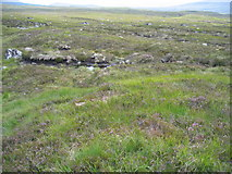 NN3762 : Featureless terrain towards Rannoch station by Pip Rolls
