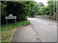 SP0898 : Railway Bridge Marks the Border by Adrian Rothery