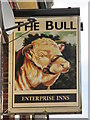 TQ4484 : (Another) sign for The Bull by Mike Quinn