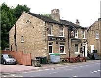 SE1115 : The Queen - Manchester Road, Milnsbridge by Betty Longbottom