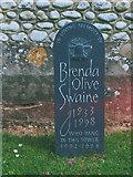 TQ1450 : Memorial to a bellringer by Stephen Craven