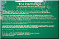 SK4338 : The Hermitage, Information Board by David Lally