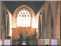 TQ2866 : All Saints church, Hackbridge: interior by Stephen Craven