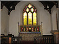 TF9624 : St Helen's church - the chancel by Evelyn Simak
