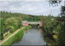 SK0305 : Wyrley & Essington Canal - Becks Bridge by John M