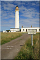 NT7277 : Barns Ness lighthouse by Walter Baxter