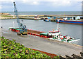NZ4349 : Seaham Harbour inner quay by George Robinson