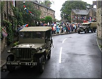 SD9906 : Army Convoy in Dobcross by Paul Anderson