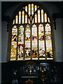 SP5106 : Lincoln College chapel, East window by Stephen Craven