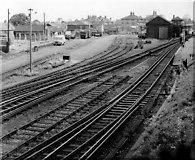 TQ2863 : Wallington Station Goods Yard by Ian Mockford