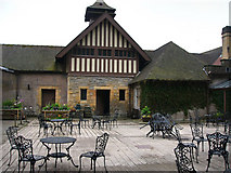 NU0702 : Courtyard of the visitor centre Cragside by Chris Gunns