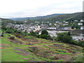NR8668 : Tarbert: view over village by Chris Downer