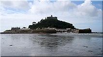 SW5130 : Piers and Harbour, St, Michael's Mount by Bob Embleton