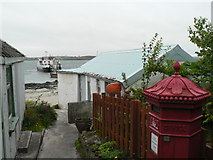 NM2824 : Isle of Iona: the post office by Chris Downer