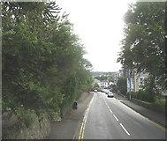 SH5571 : Telford Road (A 545), Menai Bridge by Eric Jones