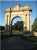 SO8844 : The London Arch, Croome Court by Philip Halling