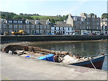 NS0767 : Port Bannatyne: the harbour by Chris Downer