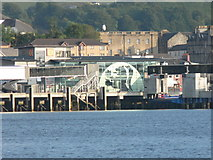 NM8529 : Oban: ferry terminal from across the bay by Chris Downer