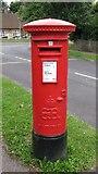 TQ2258 : Edward VIII postbox, Downs Wood / Tattenham Crescent by Mike Quinn